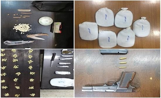 القبض على 24 شخصاً بحوزتهم كميات كبيرة من المواد المخدرة