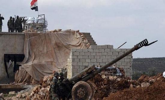 جرحى من القوات التركية بقصف قوات النظام منطقة الشيخ عقيل بريف حلب