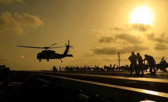 البحرية الأمريكية: مصرع 5 بحارة في حادث تحطم مروحية قبالة سواحل سان دييغو