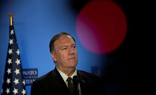 بومبيو: يجب التعامل مع استفزازات إيران المستمرة