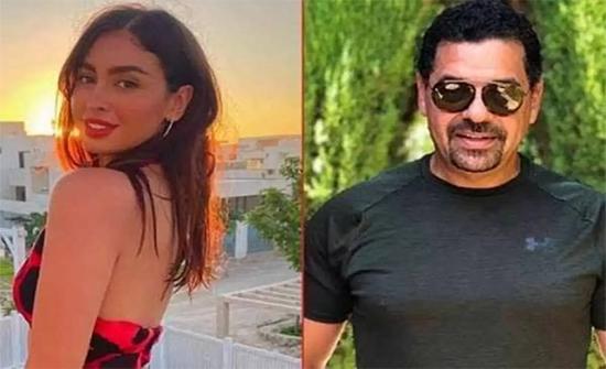 طارق العريان يصطحب حبيبته إلى حفل إطلاق عطر عمرو دياب .. صورة