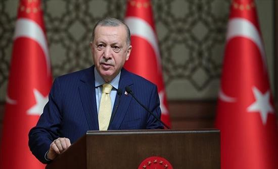 """أردوغان: لا حل لأزمة قبرص سوى إقامة دولتين """"شئتم أم أبيتم"""""""