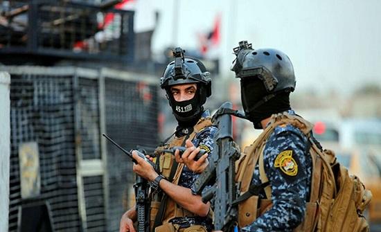 إصابة ثلاثة عناصر من الشرطة العراقية جراء انفجار بديالى