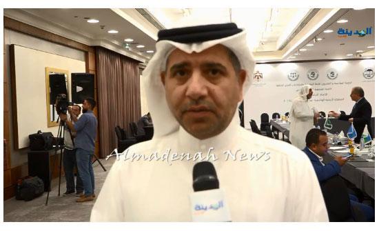 شاهد .. النائب الكويتي عودة الرويعي للمدينة  :  لن يحل مشكلات العرب الا العرب