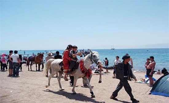 50 ألف زائر للعقبة خلال عطلة العيد