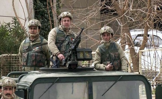 صور : القوات المسلحة والأجهزة الأمنية تواصل انتشارها بمحافظات المملكة