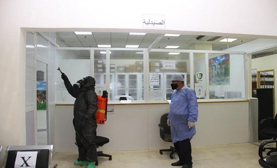 إصابة عاملة  في جامعة البلقاء بفيروس كورونا .. صور