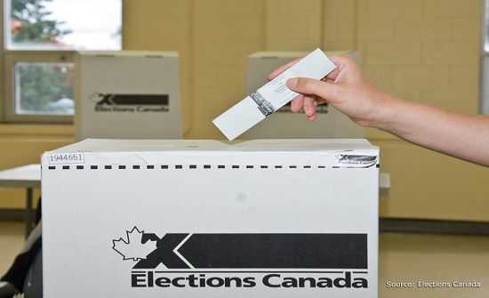 أكثر من مليون كندي يدلون بأصواتهم في الاقتراع المسبق للانتخابات الفيدرالية