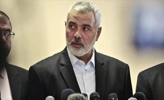 """لأول مرة.. هنية يبدأ زيارة للمغرب على رأس وفد من """"حماس"""""""