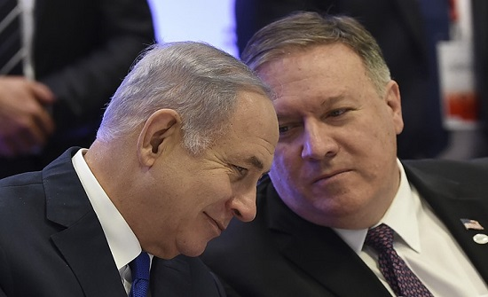 """رغم كورونا.. بومبيو يزور """"إسرائيل"""" لدعم الحكومة الجديدة"""
