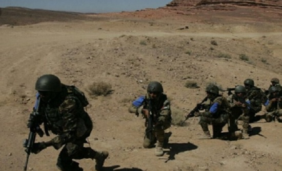 """اختتام فعاليات التمرين العسكري المشترك """"النسر الساحق"""""""