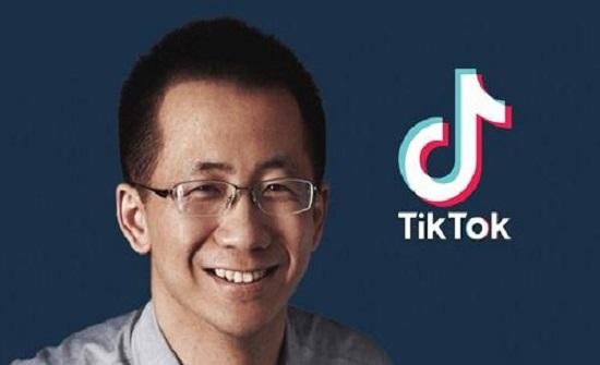 ارتفاع ثروة مؤسس تيك توك إلى 60 مليار دولار