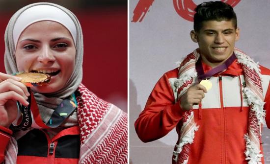 اللاعبان الصادق وعشيش سيحملان علم الأردن في حفل الألعاب الأولمبية