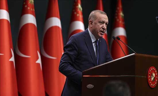 أردوغان: رسالة ضباط البحرية السابقين تضم تلميحات انقلابية ولا ننوي الانسحاب من اتفاقية مونترو