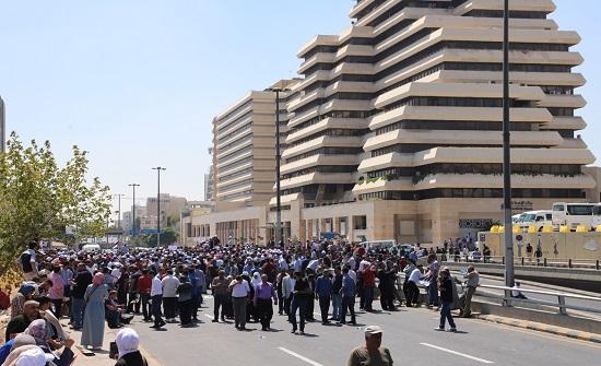 شهاب : الاختناقات المرورية سببها اصرار المعلمين على الاعتصام في الرابع بدون ترخيص