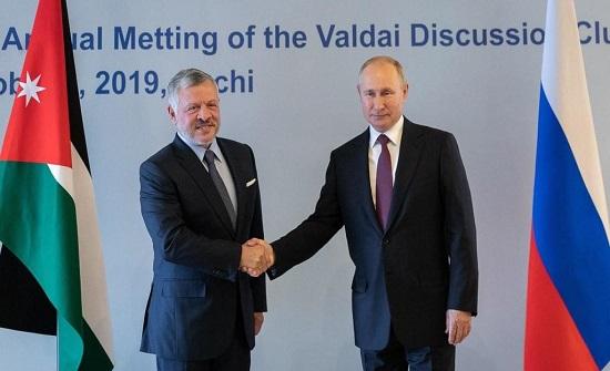 الملك ينهي زيارته في روسيا و يعود إلى الأردن