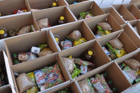 أردن العطاء توزع 212 طردا على العائلات الفقيرة بإربد