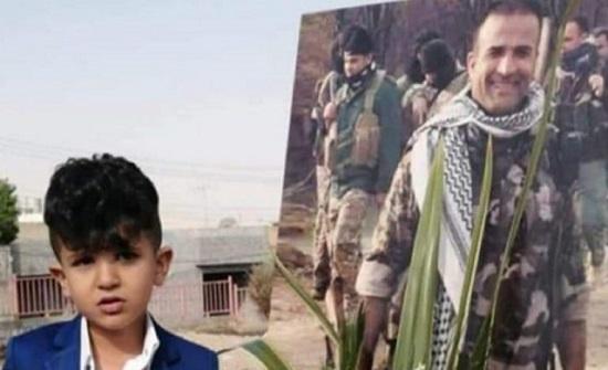 العراق.. وفاة طفل بجلطة دماغية حزنًا على والده المقتول .. صور