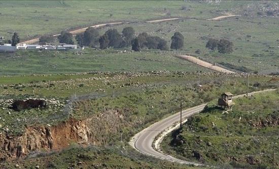 إسرائيل تغلق المجال الجوي فوق مرتفعات الجولان