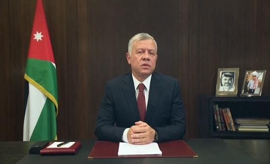 الملك : السبيل الوحيد لإنهاء الصراع الفلسطيني الإسرائيلي مبني على حل الدولتين