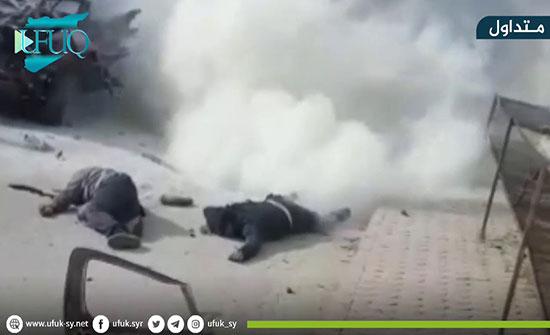 بالفيديو : قتيلان إثر تفجير سيارة مفخخة في أعزاز شمالي سوريا