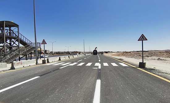 تحويلات مرورية على طريق اتوستراد عمان - الزرقاء