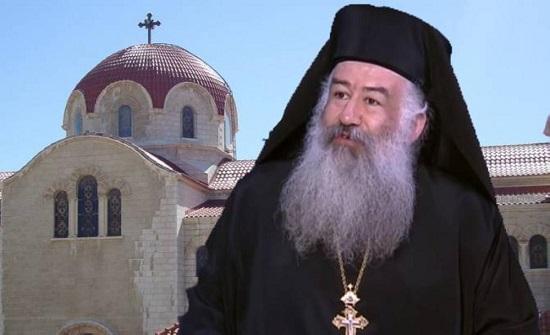 الكنيسة الأرثوذكسية ترفع الصلاة من أجل السلام في فلسطين