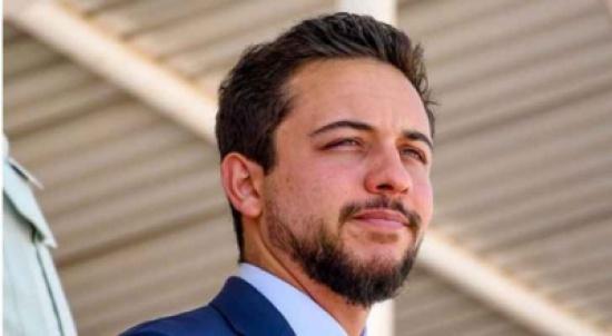 إصابة ولي العهد الامير حسين بن عبدالله بفيروس كورونا