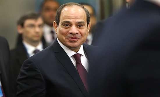 السيسي ينفي حبس أي شخص في مصر بسبب آرائه السياسية