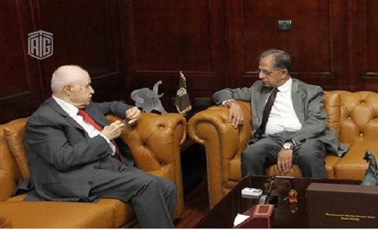 أبوغزاله يستقبل سفير جنوب أفريقيا في الأردن