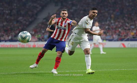 بالصور : الريال وأتلتيكو مدريد يقتسمان نقطة التعادل في ديربي سلبي