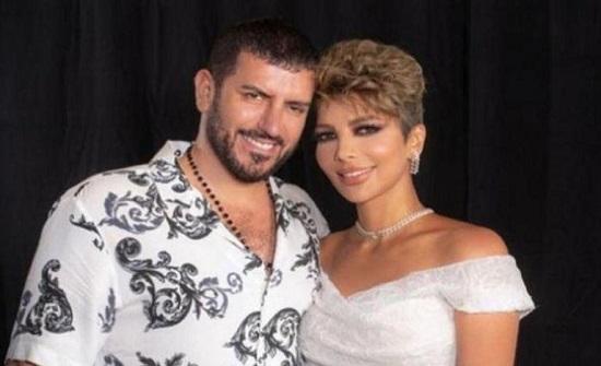أصالة بصورة مع زوجها.. والجمهور يهاجمها: احترمي ولادك (صورة)