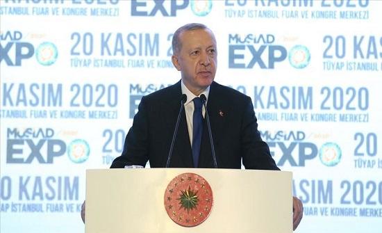أردوغان: سنضمن تسريع الاستثمارات المحلية والأجنبية