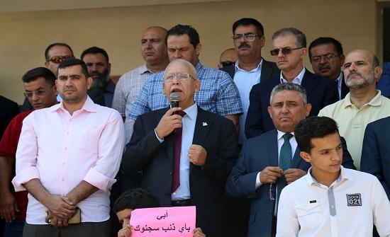 الزعبي يطالب بعلاوة 10% للمهندسين.. والافراج عن المعتقلين