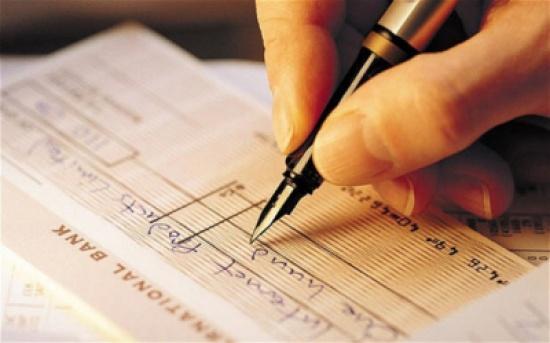 المركزي يقرر عدم إدراج العملاء المرفوضين ماليا بقائمة الشيكات المرتجعة