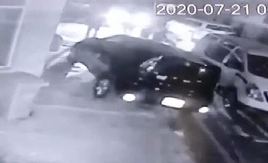 لحظة اختطاف مواطنة ألمانية وسط العاصمة العراقية .. بالفيديو