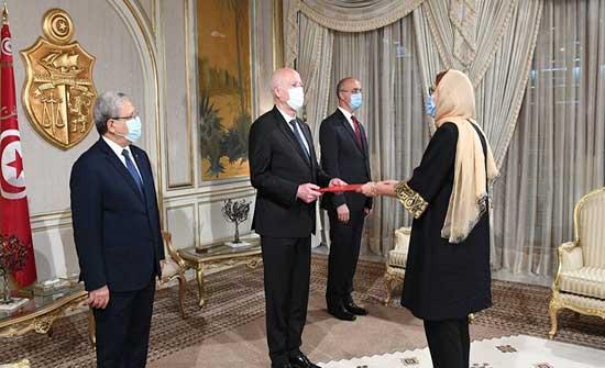 سعيد يعين سفيرة تونسية لدى الولايات المتحدة