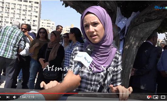 شاهد : اعتصام اهالي معتقلي الراي امام مجلس النواب