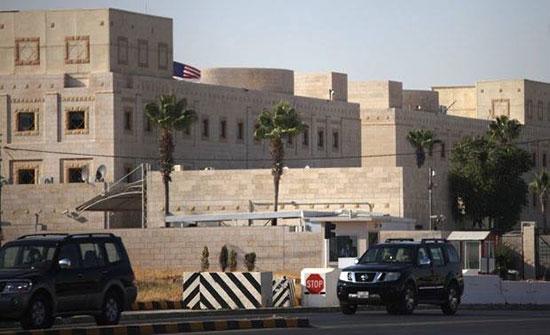 السفارة الأميركية  : وقف الخدمات الروتينية لمواطنيها بسبب كورونا