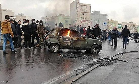 """إيران.. الأمن يستهدف """"رؤوس وصدور"""" المحتجين على قانون الوقود"""