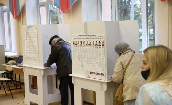 حزب بوتين في طريقه للفوز في الانتخابات البرلمانية