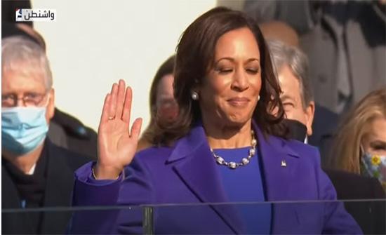 كامالا هاريس تؤدي اليمين الدستورية نائبة للرئيس الأمريكي .. بالفيديو