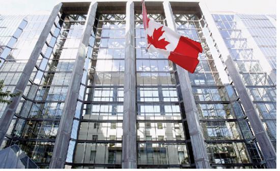الاقتصاد الكندي ينمو بمعدل أسرع من توقعات البنك المركزي