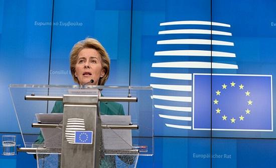 رئيسة المفوضية الأوروبية: ارتكبنا خطأ في تقييمنا لخطورة فيروس كورونا