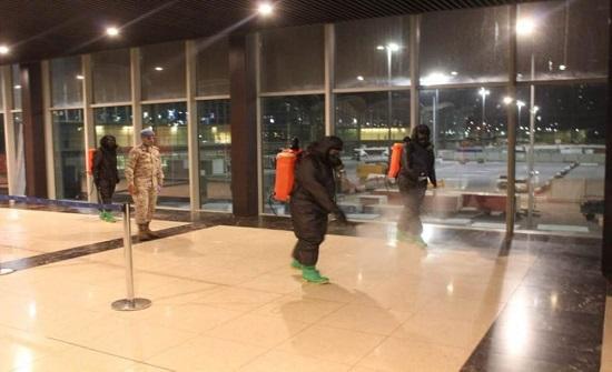 وصول طائرة من قطر على متنها ٢٦٧ مسافراً