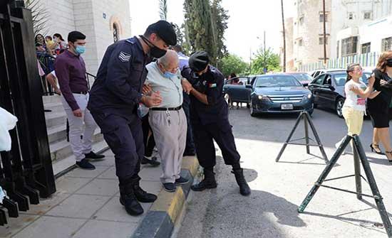 صور : اجراءات امنية في عيد الفصح
