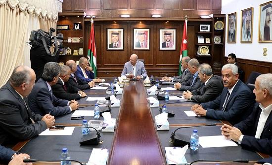 الفايز يؤكد اهمية دعم مؤسسة إعمار محافظة عجلون