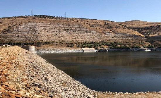 """""""وادي الأردن"""": مخزون السدود أقل بنحو 80 مليون م3 عن العام الماضي"""