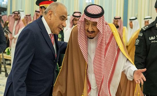 الرئيس العراقي والعاهل السعودي يبحثان تعزيز العلاقات الثنائية