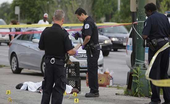 إصابة 3 ضباط في إطلاق نار على مركز شرطة بأمريكا